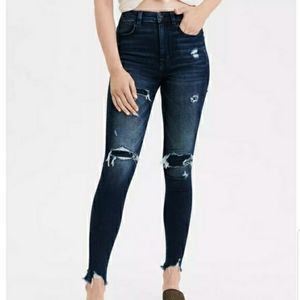 American Eagle Curvy Highest Rise Skinny Jeans Y2K